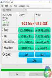 AS SSD Benchmark 1