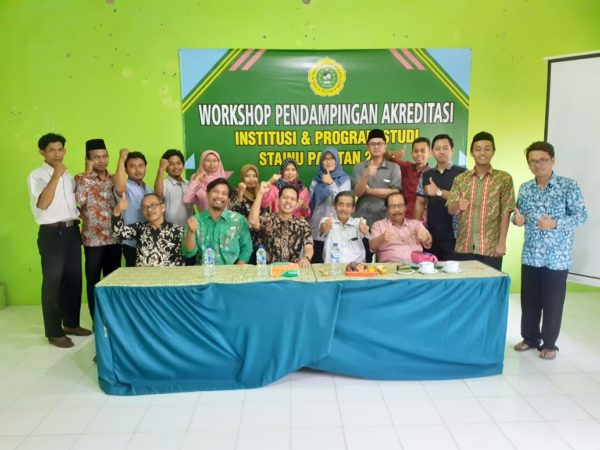 WORKSHOP PENDAMPINGAN AKREDITASI INSTITUSI DAN PROGRAM STUDI